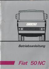 Camiones fiat 50 NC manual de instrucciones 1972 manual de instrucciones manual bordo libro ba