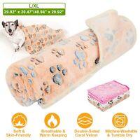 Fluffy Pet Winter Warm Blankets Bed Mattress Dog Cat Cushion Pillow Soft Mat Rug
