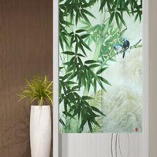 Bamboo & Birds Japanese Noren Door Curtains Landscape Tapestry Doorway Curtains