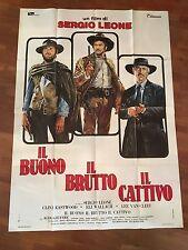Manifesto,IL BUONO IL BRUTTO IL CATTIVO SERGIO LEONE,Wallach,Eastwood,VAN CLEEF