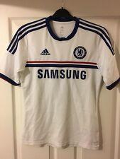 2013/2014 Chelsea FC away football shirt Adidas Samsung Blues rare small men's