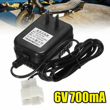 DC 6V 700mA Battery Charger Adapter For Electric Kids Ride on Car Bike (1) S99