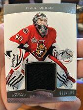 2011-12 Dominion Jersey #66 Robin Lehner 090/100 Ottawa Senators