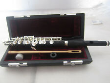 POSITE WOOD PICCOLO With   c key silver plated