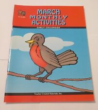 MARCH MONTHLY ACTIVITIES FOR KINDERGARTEN, GRADE 1 (1ST, FIRST)  NEW