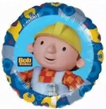 """Official Bob The Builder Blue 18"""" Foil Helium Balloon All Occasions Celebration"""