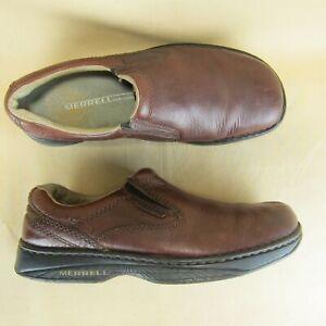 Merrell World Passport Redwood Loafer Slip On Casual US 10 EU 44 Men Leather