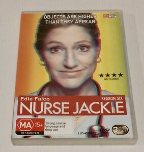 Nurse Jackie Season 6 DVD 3 Disc Set Season Six NTSC