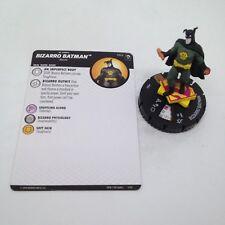 Heroclix Joker's Wild set Bizarro Batman #062 Chase figure w/card!