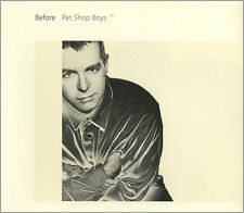 PET SHOP BOYS - BEFORE - CD SINGLE