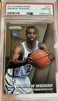 2014 Panini Prizm Rookie Andrew Wiggins Gem Mint 10 PSA  Golden State Warriors