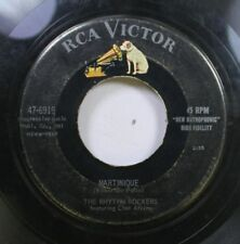 50'S & 60'S 45 The Rhythm Rockers - Martinique / Dig These Blues On Rca Victor