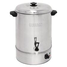 Buffalo EDELSTAHL Wasserkocher Punsch Kaffee 40L Glühweintopf Teekessel