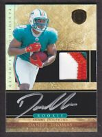2011 Gold Standard Football #270 Daniel Thomas RC Auto Patch 328/525 Dolphins