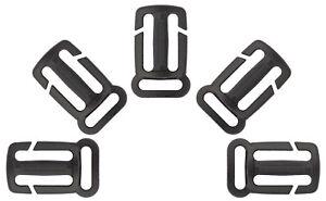 10 - 1 Inch Quik Attach Sternum Strap Adjuster Triglide Slide