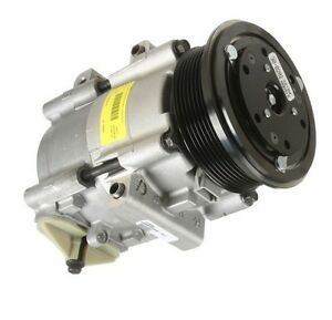 For Mercury Grand Marquis 92 A/C Compressor w/ Clutch HALLA Remanufactured
