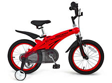 "16"" Magnesium Alloy Children KID BMX Bike with training Wheel red"