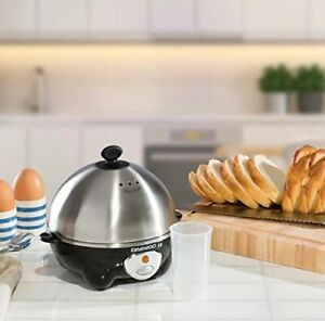 Brand New Daewoo 360W Egg Boiler Poacher Cooker with Steam Vents Fits 7 eggs