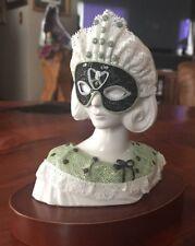 RARE Lladro Mardi Gras Bust 3 Brillo Busto Pequeno Num 3 Caprichos Original Box