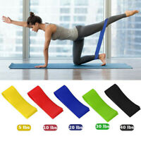 5PCS Resistance Bands Workout Exercise Loop Bands Fitness Gym Crossfit Yoga
