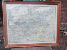 Neueste Reise-Karte von Deutschland. Hermann Beyer & Söhne 1899, Nachdruck.