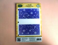 JustRite Background Stamp - Snowfall