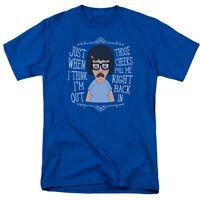 Adult Charcoal Comedy TV Show Cartoon Bob/'s Burgers Butts Graffiti T-Shirt Tee