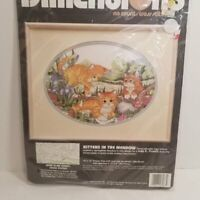 Dimensions Kittens In The Meadow Cross Stitch Kit New Sealed Cats