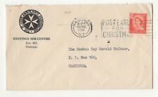New Zealand St John Ambulance Cover 1956 Hastings 119c