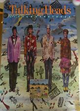 Talking Heads Little Creatures Poster Rare Vintage 1985 Extra Large Promo!