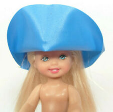 """Small Green Sinamay Doll Hat for 4/"""" Kelly Doll"""