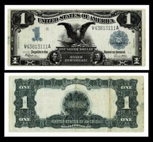 1899 $1 BLACK EAGLE SILVER CERTIFICATE~ ~~VERY FINE