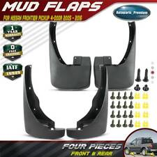 For Nissan Frontier 2005 2019 Pickup Splash Guards Mud Flaps Front Rear Set Of 4 Fits 2011 Nissan Frontier