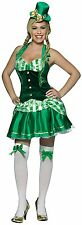 St. Patrick's Day Shamrock Sweetheart Sexy Costume One Size Fits Most 4-10