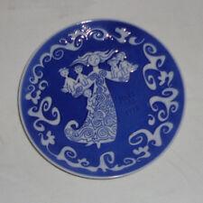 Mother's Day 1972 Decorative Plate Mors Dag Royal Copenhagen Denmark Signed