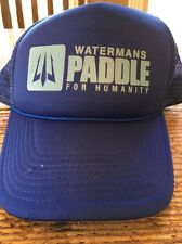 Watermans Paddle For Humanity Blue SnapBack Hat Cap