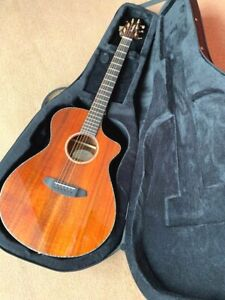 Electro Guitar Breedlove Pursuit Exotic Concert CE Koa & Case,Normally £1,500