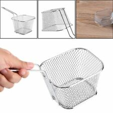 French Fries Basket Kitchen Cooking Tool Fry Basket Strainer Home Essential