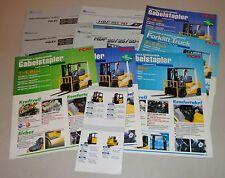 Prospekte Brochure Hyundai & TCM Gabelstapler / Forklifts 2004 - 2006