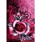 Diamond Painting Rose DIY 5D Full Drill Cross-stitch Kits Home Flower Decor Gift