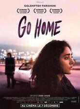 Affiche 120x160cm GO HOME (2016) Golshifteh Farahani, Maximilien Seweryn NEUVE