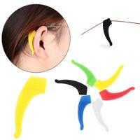 Gafas Soporte de gafas Anti - deslizamiento Silicona Ganchos para la oreja