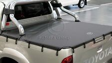 GENUINE TOYOTA HILUX SR5 DUAL CAB AUG08 - JUL15 SOFT TONNEAU COVER BUNGEE TYPE