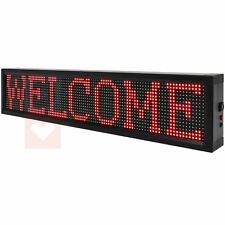 Bright Led Sign Business Amp Stores 40x8 Wifi Programmable Scrolling Neon Light