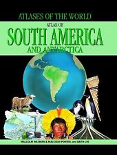 Atlas of South America and Antarctica (Atlases of the World)-ExLibrary