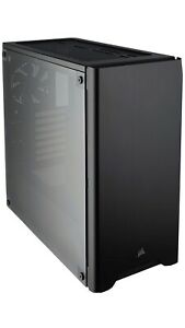 Corsair 110R Mid Tower Case Black Tempered Glass CC-9011183-WW BRAND NEW IN BOX