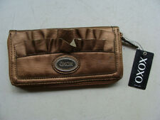 XOXO Renaissance Full Size Zip Bronze Wallet