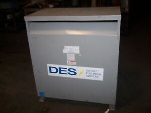 FEDERAL PACIFIC 150 KVA TRANSFORMER 3 PHASE 480 PRIMARY 208Y/120 SECONDARY 36B