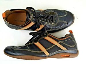COLE HAAN Men Brown Leather Lace Up Sneaker Casual Shoes Size 12M 07282