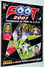 ALBUM VIERGE PANINI FOOT 2007 FOOTBALL EMPTY LEER NEUF FRANCE 2006-2007